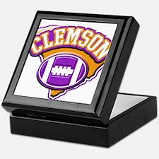 Clemson Football Keepsake Box