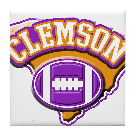 Clemson Football Tile Coaster