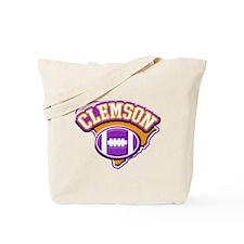 Clemson Football Tote Bag