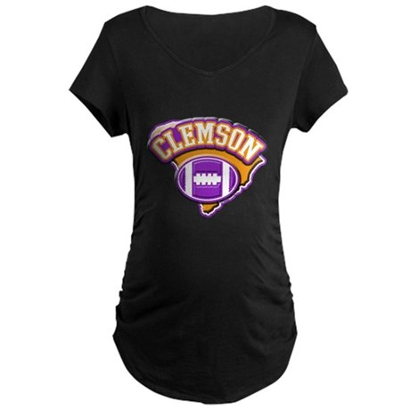 Clemson Football Maternity Dark T-Shirt