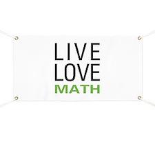 Live Love Math Banner