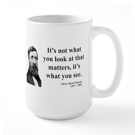 Henry David Thoreau 36 Large Mug