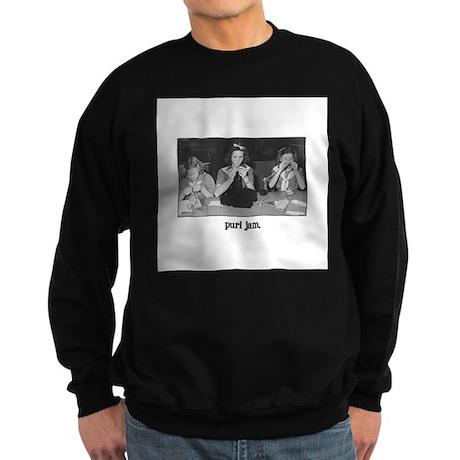 Knitting - Purl Jam Sweatshirt (dark)