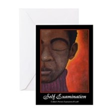 Self Examination Greeting Card (Blank)