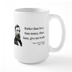 Henry David Thoreau 37 Mug