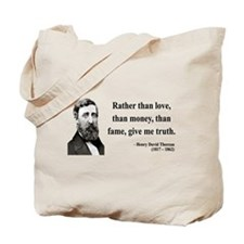 Henry David Thoreau 37 Tote Bag