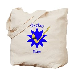 Hockey Star Tote Bag