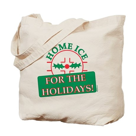 home ice holiday Tote Bag