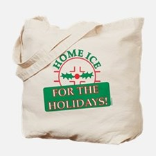 home ice holiday Tote Bag