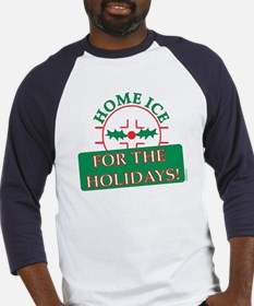 home ice holiday Baseball Jersey