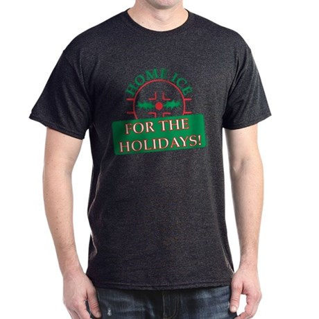 home ice holiday Dark T-Shirt
