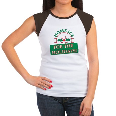 home ice holiday Women's Cap Sleeve T-Shirt