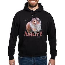 Sheltie Agility Hoodie