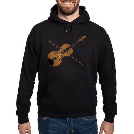 Fiddle or Violin? Hoodie (dark)