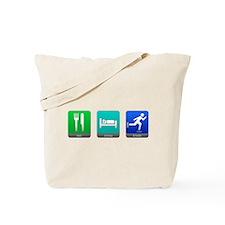 Eat, Sleep, Blade Tote Bag