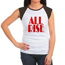 All Rise Women's Cap Sleeve T-Shirt