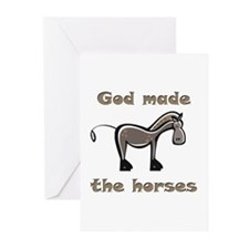 God Made Horses Greeting Cards (Pk of 10)