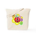 Super Peace Blossom Tote Bag