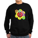 Super Peace Blossom Sweatshirt (dark)