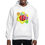 Super Peace Blossom Hooded Sweatshirt