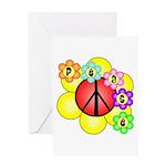 Super Peace Blossom Greeting Card