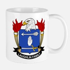 Laughlin Family Crest Mug