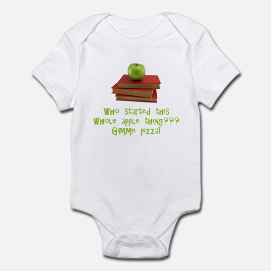 Teacher's Apple Infant Bodysuit