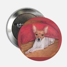 "Toy Fox Terrier 2.25"" Button"