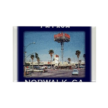 Norwalk CA Rectangle Magnet (100 pack)