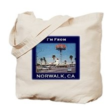 Norwalk CA Tote Bag