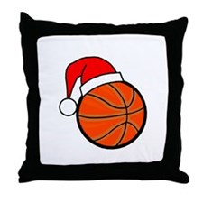 Basketball Greetings Throw Pillow