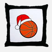 Basketball Greetings Throw Pillow