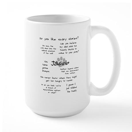Jacob Quotes Large Mug