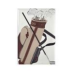 Golf Rectangle Magnet (10 pack)