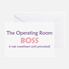 OR Boss Lady Greeting Card
