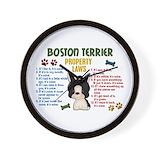 Boston terrier Basic Clocks