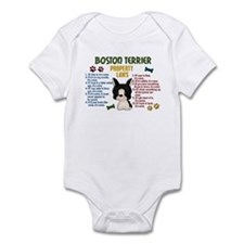 Boston Terrier Property Laws 4 Infant Bodysuit