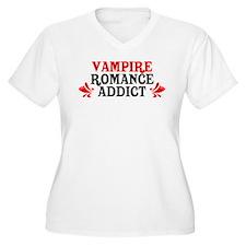 Vampire Romance Addict T-Shirt