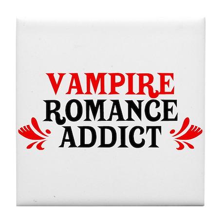 Vampire Romance Addict Tile Coaster