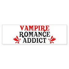 Vampire Romance Addict Bumper Bumper Sticker