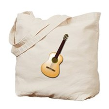 Acoustic / Spanish Guitar Tote Bag