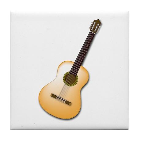 Acoustic / Spanish Guitar Tile Coaster