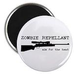 Zombie Repellant Rifle Magnet