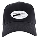 Zombie Repellant Rifle Black Cap