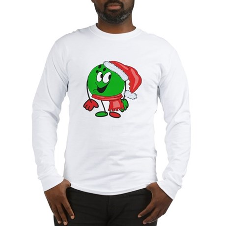 Bowling Ball Christmas Long Sleeve T-Shirt