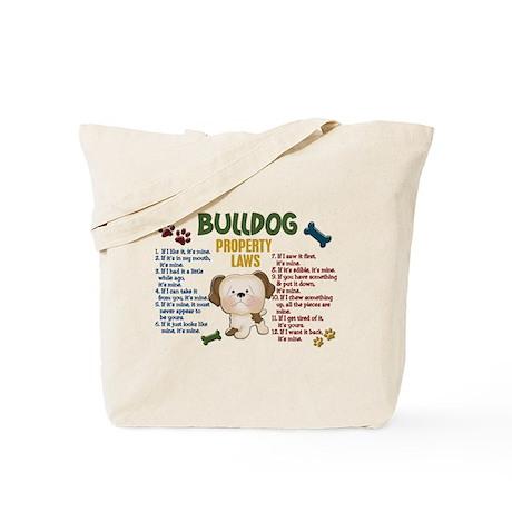Bulldog Property Laws 4 Tote Bag