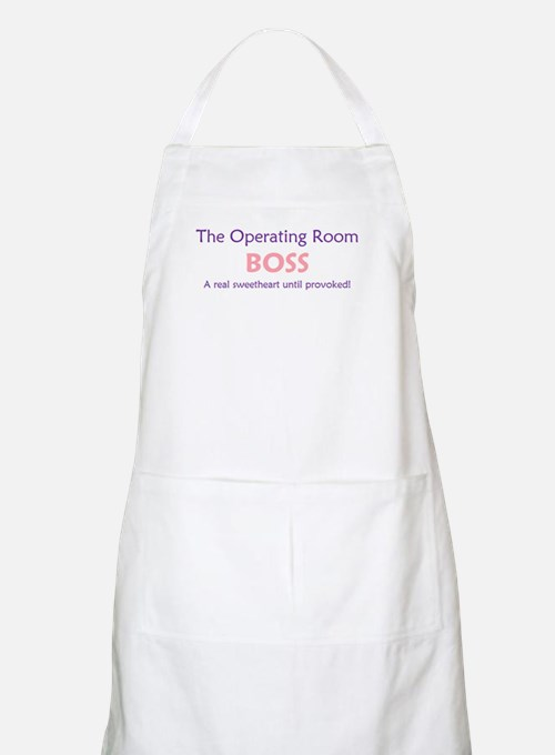 OR Boss Lady BBQ Apron