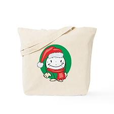 Golf Ball Christmas Tote Bag