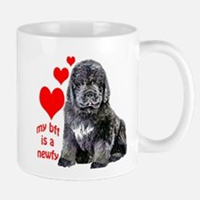 newf pup bff Mug