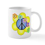 Peace Blossoms /blue Mug